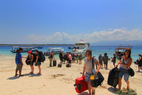 Ferry to Bangsal